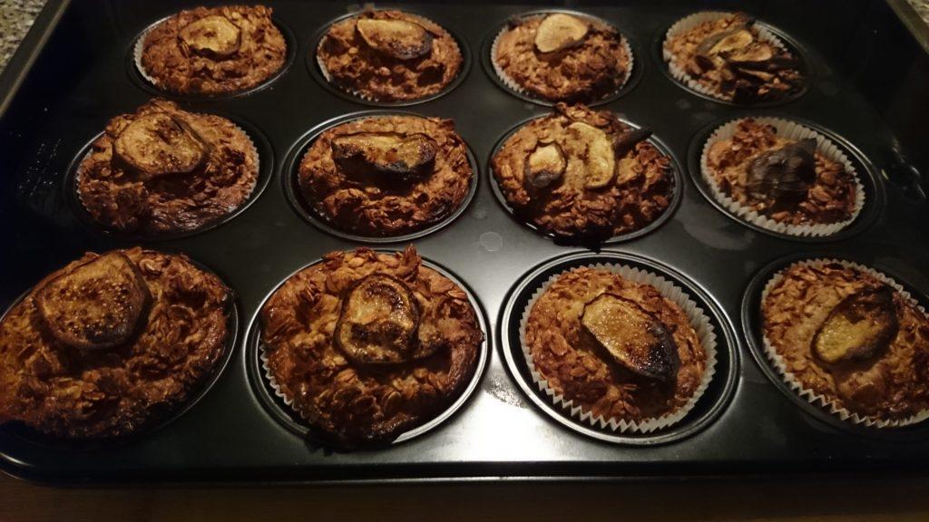 Honig_Haferflocken_Muffins fertig gebachen