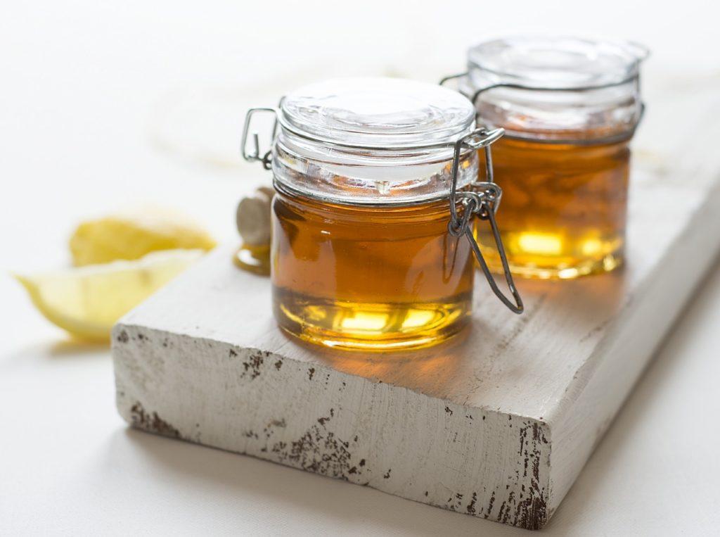 Honig als Gastgeschenk zur Hochzeit